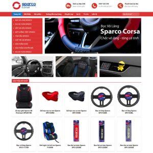 Theme wordpress bán hàng phụ kiện ô tô M44 hình 2