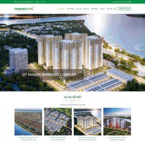 Theme bất động sản tổng hợp dự án siêu đẹp chuyên nghiệp M96