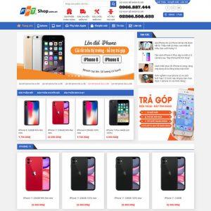 Theme Wordpress bán hàng Điện Thoại Iphone, Apple M180 hình 2