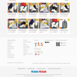 Theme Wordpress bán hàng Thương Mại Điện Tử giống Shopee M140 hình số 4
