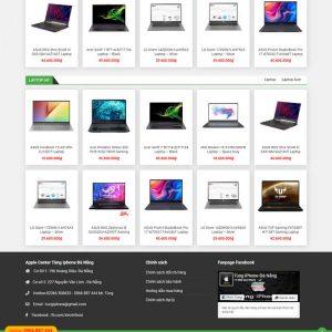 Theme Wordpress bán Laptop Máy Tính Xách Tay M176 hình 3