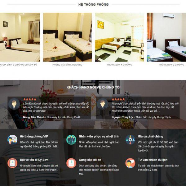 Theme Wordpress Khách Sạn Hotel M126 hình số 2