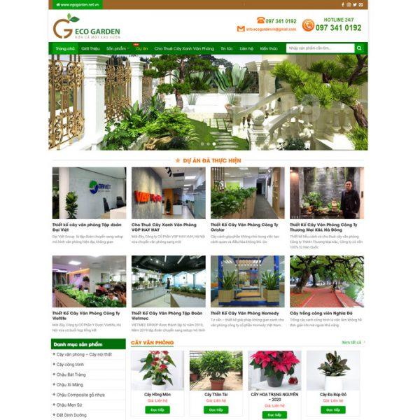 Theme Wordpress Cảnh Quan, Cây Trồng, Cây Cảnh kiến trúc