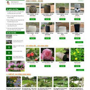 Theme Wordpress Cảnh Quan, Cây Trồng, Cây Cảnh kiến trúc hình 2