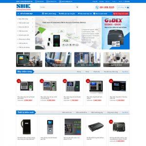 Theme Wordpress Máy Chấm Công, Thiết bị Kiểm Soát, An Ninh M146 hình số 2