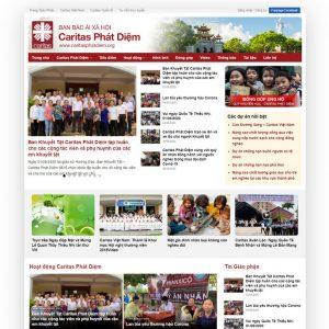 Theme Wordpress Tin Tức Xã Hội, Tín Ngưỡng M173 hình 2