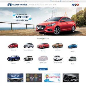 Theme Wordpress bán Xe Hyundai M183 hình 2