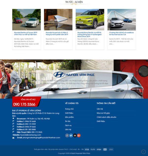 Theme Wordpress bán Xe Hyundai M183 hình 3