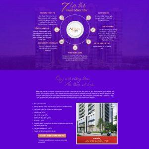 Theme Wordpress bất động sản Landing Page mới nhất M189 hình 3