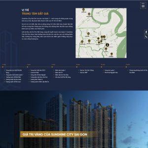 Theme Wordpress giới thiệu dự án bất động sản M193 hình 3