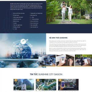 Theme Wordpress giới thiệu dự án bất động sản M193 hình 4