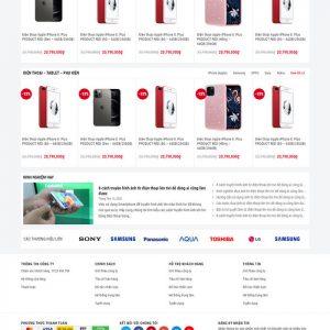 Theme Wordpress bán hàng điện thoại máy tính mẫu số 4 hình số 3