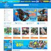 Theme Wordpress bán hàng Hải Sản M203 hình 2